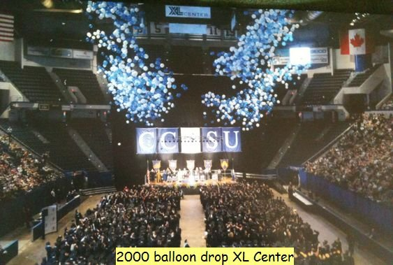 CCSU Balloon Drop