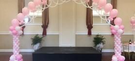 Elegant Lace Arch