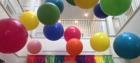 floating ceiling balloons